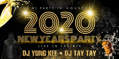 THE #1 NYE PARTY IN HOUSTON 2020 NEW YEARS PARTY by PWU x BUFFET SOCIETY