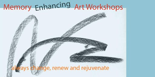 Memory Enhancing Art Workshops - Wednesday (5 sessions)