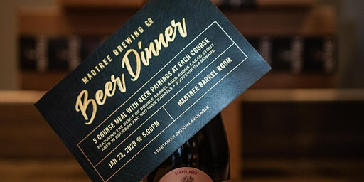 MadTree 5-Course Beer Dinner