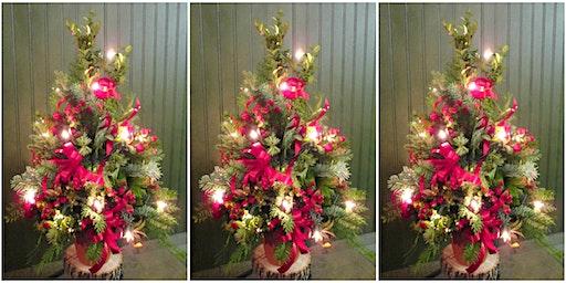 Ecker's Flowers Tabletop Tree Design Class