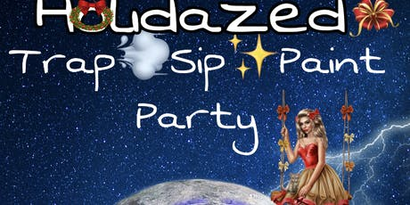Kusherland Presents Woken Arts Paint Party~Sip Puff n paint  tickets
