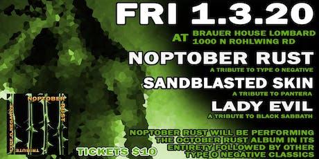 Metal Tributes Noptober Rust, Sandblasted Skin & More at BHouse LIVE tickets