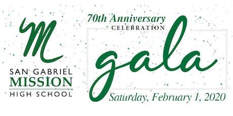 San Gabriel Mission High School Gala tickets