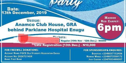 FGCEOSA Enugu End of Year Party