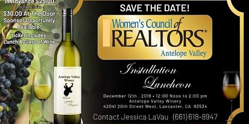 2020 WOMEN'S COUNCIL OF REALTORS INSTALLATION