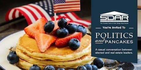 Politics & Pancakes tickets