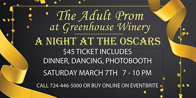 4th Annual Adult Prom: A Night at the Oscars!