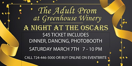 4th Annual Adult Prom: A Night at the Oscars! tickets