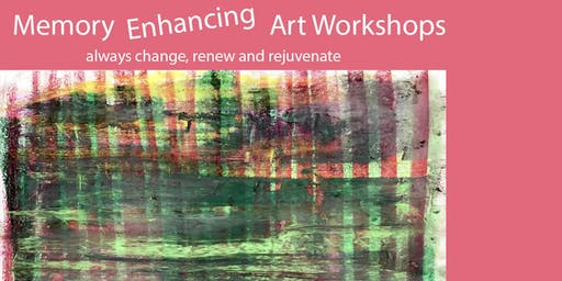Memory Enhancing Art Workshops - Tuesday (5 sessions)