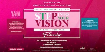 Step into your vision: YAM Christmas Fellowship