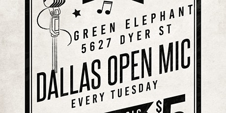 Dallas Open Mic tickets