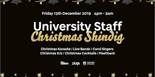 2019/20 University Staff Christmas Shindig