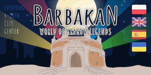Bajeczny Barbakan — interactive multimedia exhibition in Krakow