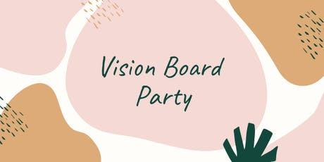 Vision Board 2020 Party tickets
