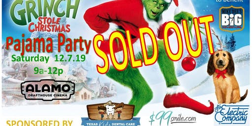 Snowmen for Children:  How the Grinch Stole Christmas Pajama Party
