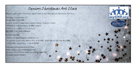 Seniors Christmas Art Class tickets
