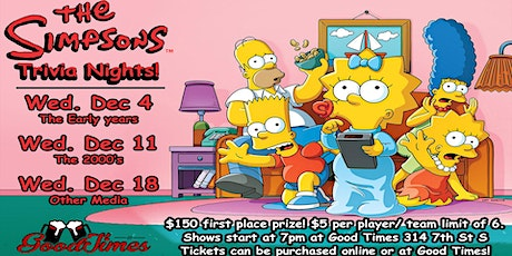 The SImpsons Trivia tickets