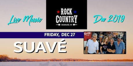 Suave at Rock Country! tickets