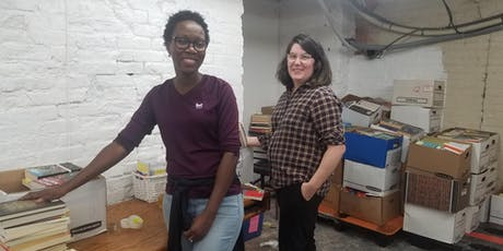 Social Volunteering: Help Sort Books at Housing Works with One Brick tickets