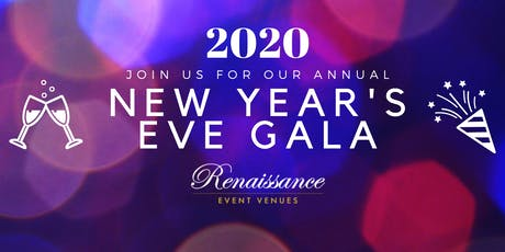 2020 Annual New Years Gala with Dinner, Open Bar and Dancing  tickets