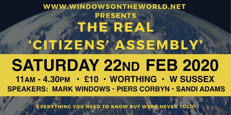 The Bigger Picture - Worthing tickets