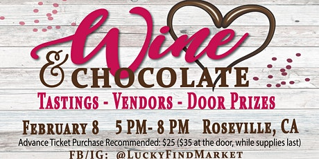 Wine & Chocolate Tasting tickets