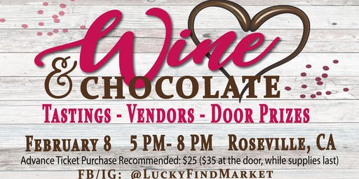 Wine & Chocolate Tasting