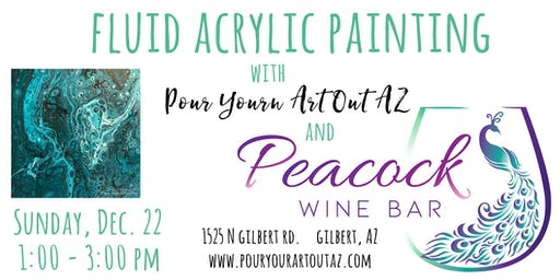 Paint With Me at Peacock Wine Bar!