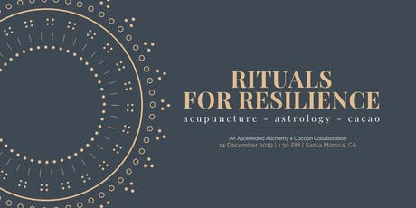 Rituals for Resilience tickets