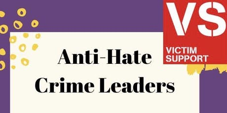 Anti-Hate Crime Leaders Scheme tickets
