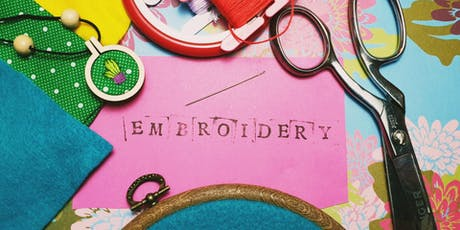 What A Load Of Craft: Embroidery For Beginners tickets