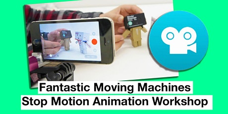 Youth Summer School Holiday Event: Stop Motion Animation Workshop tickets
