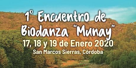"""Primer Encuentro de Biodanza """"Munay"""" entradas"""