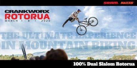 100% Dual Slalom Rotorua 2020 tickets