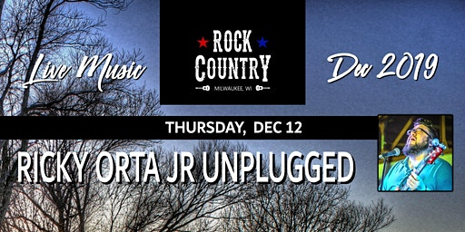 Ricky Orta Jr. Unplugged at Rock Country!