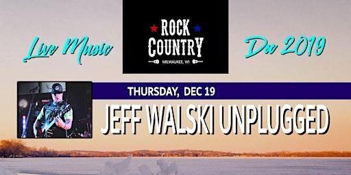 Jeff Walski Unplugged at Rock Country!