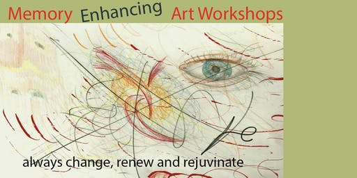 Memory Enhancing Art Workshops - Saturdays (5 sessions)