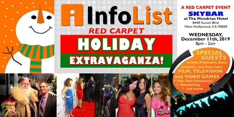INFOLIST Red Carpet Holiday Extravaganza 2019! tickets