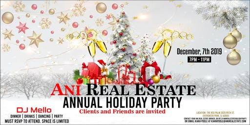 Ani Real Estate Holiday Party 2019