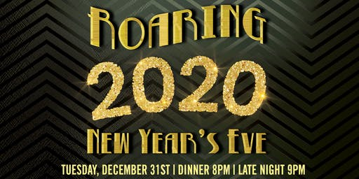 Roaring 20s New Year's Eve @ Blackfinn Ashburn