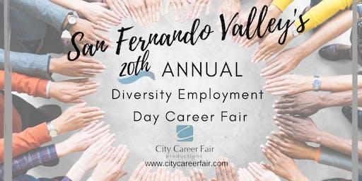 SAN FERNANDO VALLEY'S 20th ANNUAL DIVERSITY EMPLOYMENT DAY CAREER FAIR October 21, 2020