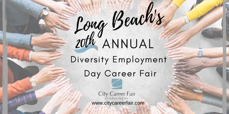 LONG BEACH'S 20th ANNUAL DIVERSITY EMPLOYMENT DAY CAREER FAIR November 4, 2020 tickets