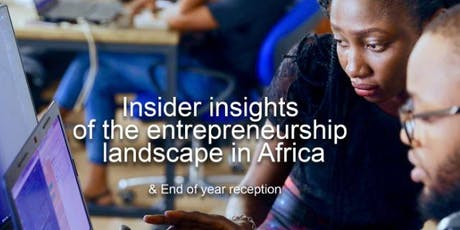 Insider insights of the entrepreneurship landscape in Africa tickets