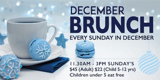 December Brunch at Waterfront Restaurant