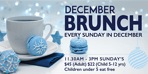 December Brunch at Waterfront Restaurant