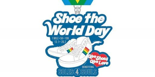 2020 Shoe the World Day 1M 5K 10K 13.1 26.2 –Houston