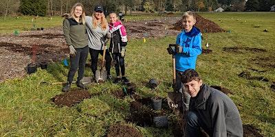 Dig it, Plant it, Do it Again! Burnt Bridge Creek Volunteer Planting