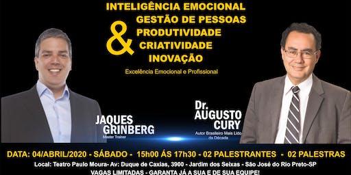 São José do Rio Preto - PALESTRA COM DR. AUGUSTO CURY  e JAQUES GRINBERG