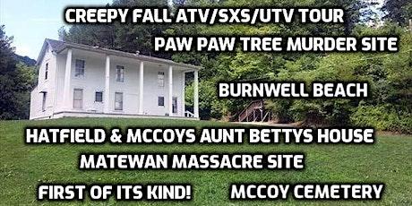 Aunt Betty's House- Creepy  History atv/sxs/utv tour tickets