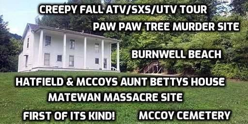 Aunt Betty's House- Creepy  History atv/sxs/utv tour